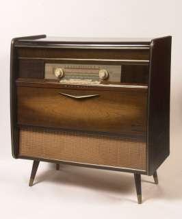 Blaupunkt Roma AM/FM/SW Tube Radio/Phonograph Stereo Console, Eames