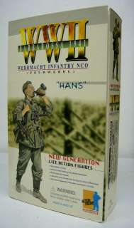 Dragon WWII 1/6 German Infantry NCO Iron Cross Hans MIB