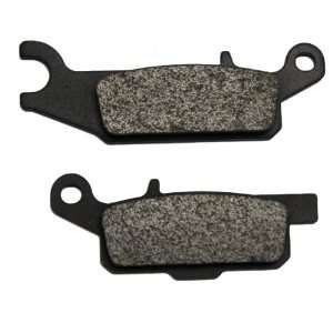 700 Grizzly Auto 4x4 Kevlar Carbon Rear Right Brake Pads Automotive