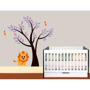 Stick Wall Decal Tree Childrens Nursery Baby room