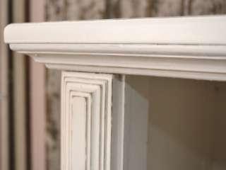 Shabby Cottage Chic White Dresser Highboy 4 Drawer Shelf French
