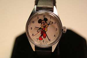 Disney Divers Wind Up Mickey Mouse Watch Rare
