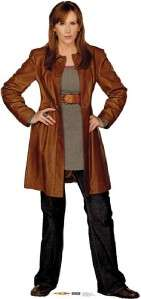 DONNA NOBLE Lifesize Cardboard Standup TV FIGURE PROP STANDEE