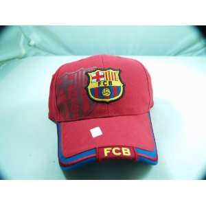 FC BARCELONA OFFICIAL TEAM LOGO CAP / HAT   FCB022  Sports
