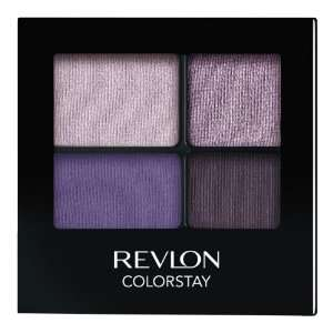 REVLON Colorstay 16 Hour Eye Shadow Quad, Seductive, 0.16