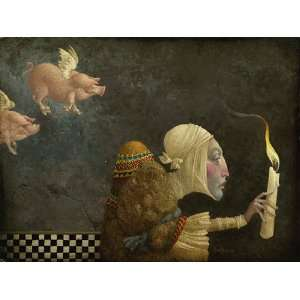 James Christensen   If Pigs Could Fly Artist Proof (AP