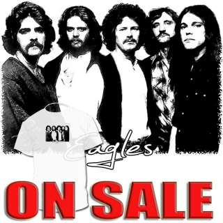 Eagles Band T shirt Eric Clapton Don Henley Joe Walsh DrawingShirts
