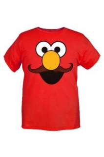 Sesame Street Elmo Mustache T Shirt Clothing