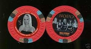 Hooters Rat Pack PATRICIA Las Vegas Casino Chip