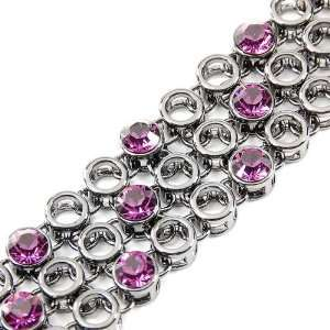 Perfect Gift   High Quality Elegant Bracelet with Purple
