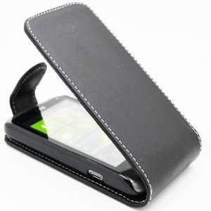 WalkNTalkOnline   HTC Radar Black Specially Designed Leather Flip Case