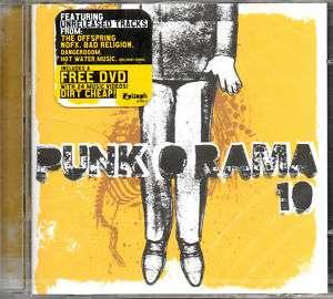 Various   Punk O Rama 10   28 Track CD + DVD   SEALED