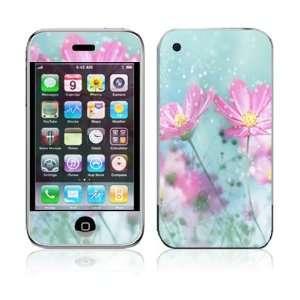Apple iPhone 2G Vinyl Decal Sticker Skin   Flower Springs