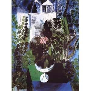 Jardin et Maison   Poster by Raoul Dufy (23.5x31.5)