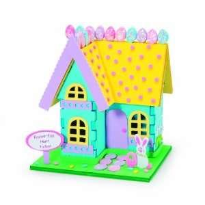 International Easter Bunny House 3D Foam Craft Kit Toys & Games