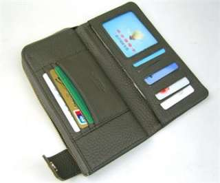 Leather Purse Wallet Clutch Cards Slot Christmas Gift EDR01