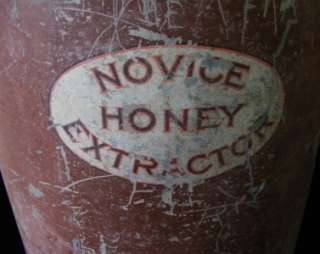 RARE Honey Bee Beehive Beeking Metal Steel Extractor 5B AI Root Co