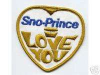 SNO PRINCE Snowmobile Patch #2 SNOPRINCE Vintage!