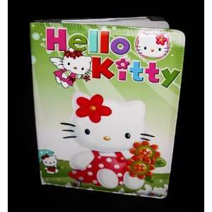 Hello Kitty Leather Case Stand for Apple iPad 2 iPad 3