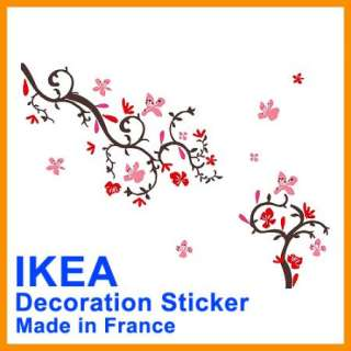 Ikea Decal Flowers Wall Stickers 4 sheets furniture NEW