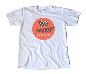 Vintage McCoy Powered Model Racing Decal T Shirt