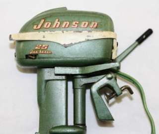 Vintage Johnson Seahorse Toy 25hp. Outboard Motor