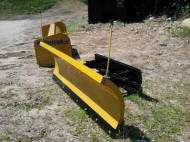 skidsteer/ universal quick attach power angle blade 8
