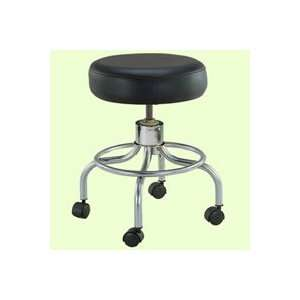 Drive Medical Exam Stool Screw Adjustable Height Black