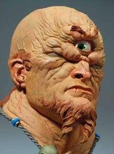 Polyphemus Cyclops Bust Resin Garage Model Kit Greek Mythology