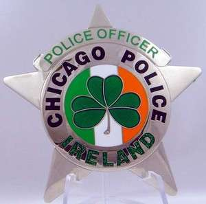 Chicago Police Badge Star ( Ireland )