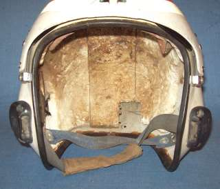 VTG VIETNAM WAR ERA HELMET Ca 1960s AIR FORCE JET PILOT FLIGHT HELMET