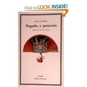 Orgullo y prejuicio (COLECCION LETRAS UNIVERSALES) (Letras