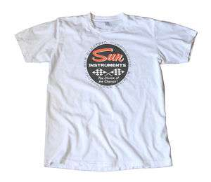 Vintage Sun Instruments Decal T Shirt   Hot Rod, Racing