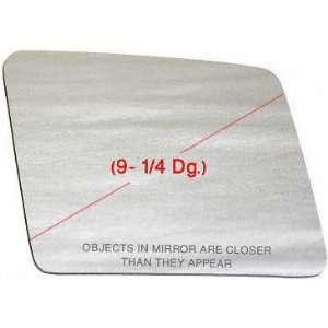 85 CHEVY CHEVROLET ASTRO MIRROR GLASS RH (PASSENGER SIDE) VAN, (9 1/4