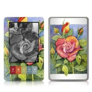 Grandmas Rose Design Protective Decal Skin Sticker for