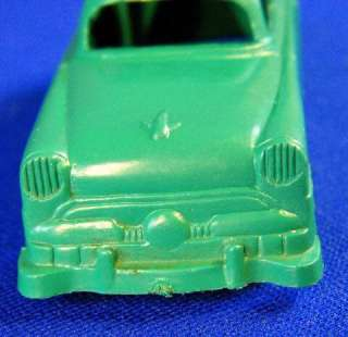 Marx Playse O Scale Car Green Chevy Coupe |