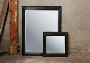 Restoration Modern Chic Contemporary Wood Wall Mirrors w/ Hanging