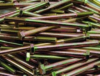 115) M8 1.25 x 130mm Metric Hex Head Screws Bolts 8mm