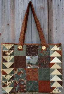 TRAIL MIX TOTE BAG Charm Pack PATTERN / Northern Flight