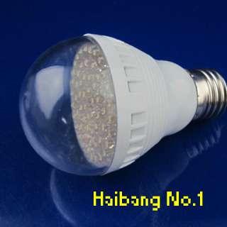 60LED E27 4.0W White LED Energy Saving Light Bulb 220V