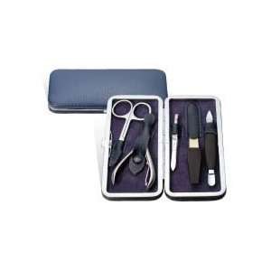 Visol Groom Leather and Stainless Steel Manicure Kit
