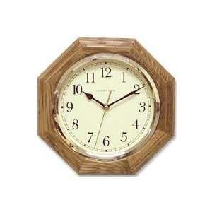 Ingraham Clocks 33 495 11.25 Marlboro Round Oak Wall