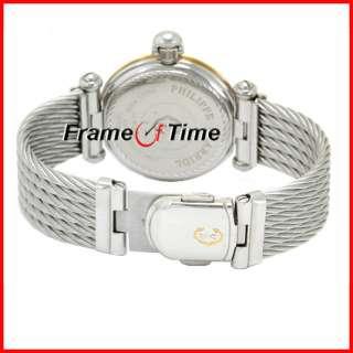 Philippe Charriol Mens Gold/SS Steel Swiss Dress Watch