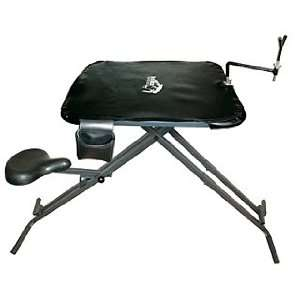 strong, Light Weight, Steel Shooting Bench/ Rifle Rest Bench   Adju
