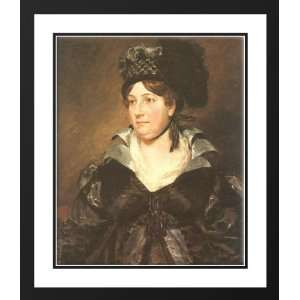 Framed and Double Matted Mrs. James Pulham, Sr.