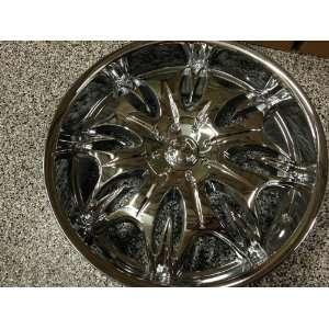 24 inch Chrome Incubus Wheels Chevrolet Tahoe Ltz, Cadillac Escalade