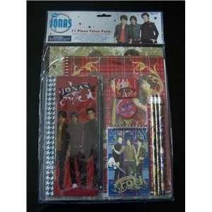 Disneys Jonas Brothers School Stationary Set; Featuring