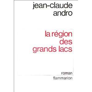 lacs Roman (French Edition) (9782080640864) Jean Claude Andro Books