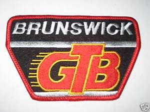 BRUNSWICK VINTAGE GTB Bowling Shirt Patch PBA DW