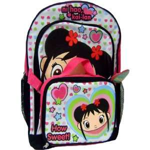 How Sweet Ni Hao Kai Lan Large Backpack Matching Lunch